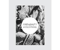 Homemade poster find skønhed