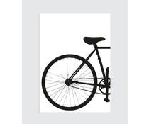 Homemade poster Industriel cykel (til venstre)