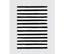 Homemade poster stripes