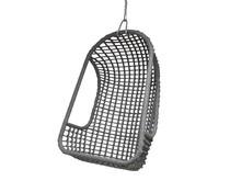 HK living udendørs hængende stol grå