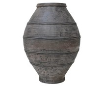 HK living olive beton pot
