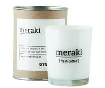 Meraki scented candle fresh cotton