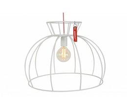 Anne Lighting glødelampe Crinoline hvid