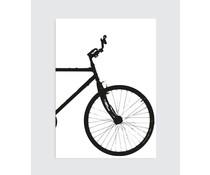 Homemade poster industrial bike (rechts)