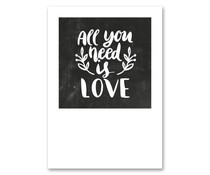 Jots kaart all you need is love