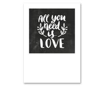 Jots kort alt hvad du behøver er kærlighed