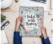 Annet Weelink kleurboek voor volwassenen - ticket to the tropics