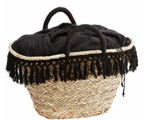 Madam Stoltz beach bag