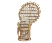HK living rattan pauw stoel basic
