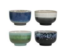 HK living 70 keramiske skåle (sæt af 4)