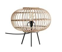 HK living Lámpara de mesa de bambú