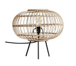 HK living bamboe tafellamp