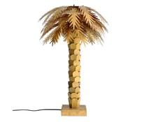 HK living palm messing lampe