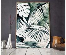 Annet Weelink plakat mystiske jungle 2 størrelser