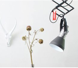 Anne Lighting brat hængende lampe grå