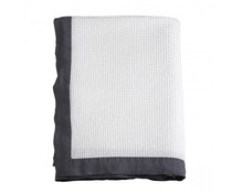 House in Style Plaid Lille White Anthracite