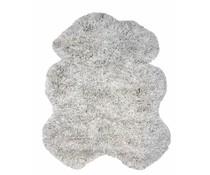 Storebror Hvid uld tæppe 190x270cm