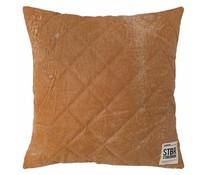 Storebror Pillow brunt quiltet læder
