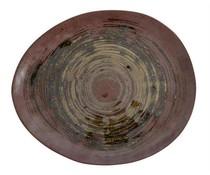 Storebror Håndlavede keramiske plade Sæt med 2