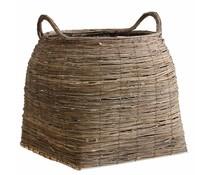 Storebror Basket of reed græs