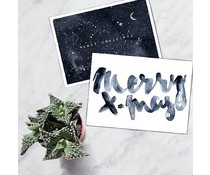 Annet Weelink Christmas cards - set of 2