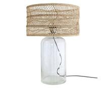 HK living Flaske lampe med stråtag