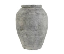 HK living Cement vase L