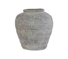 HK living Cement vase M