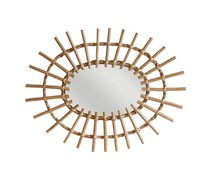 HK living Willows Oval Mirror