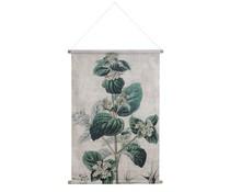 HK living Wand kaart XL: botanisch