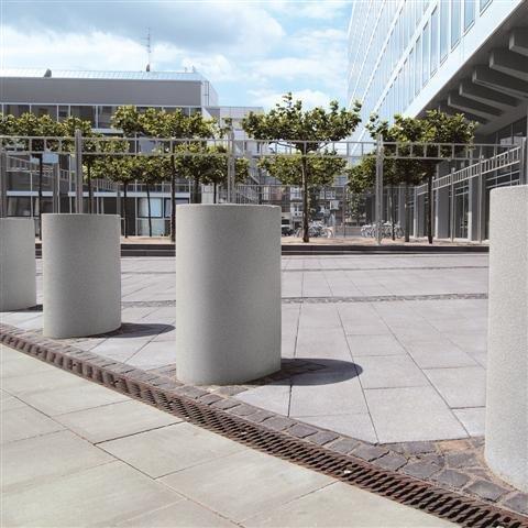 Poefs of zitelementen van beton