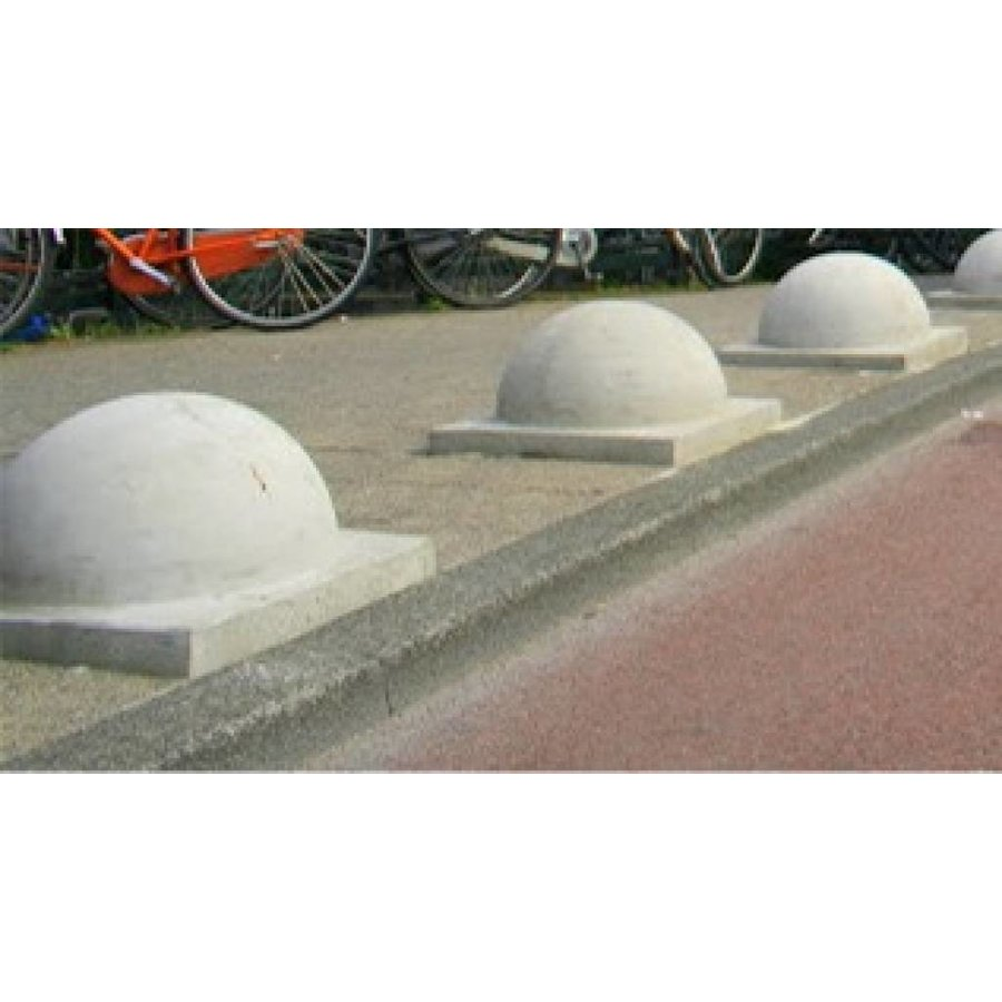 Parkeerbol Groot grijs