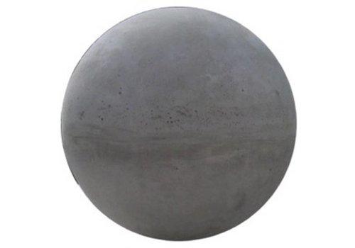 Betonnen bol grijs beton 12cm