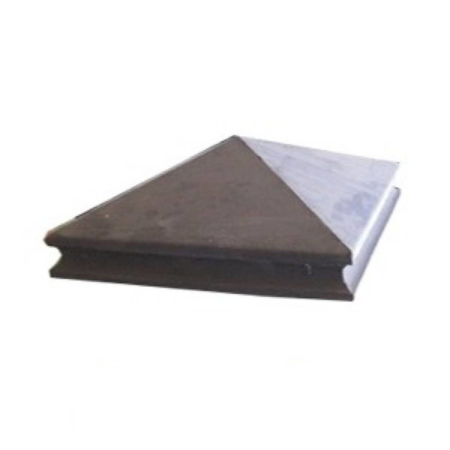 Paalmutsen met sierrand 75x75cm