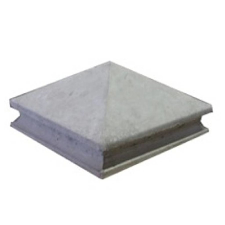 Paalmutsen met sierrand 50x50cm
