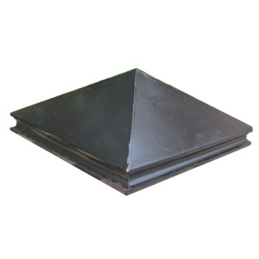 Paalmutsen met sierrand 24x24cm