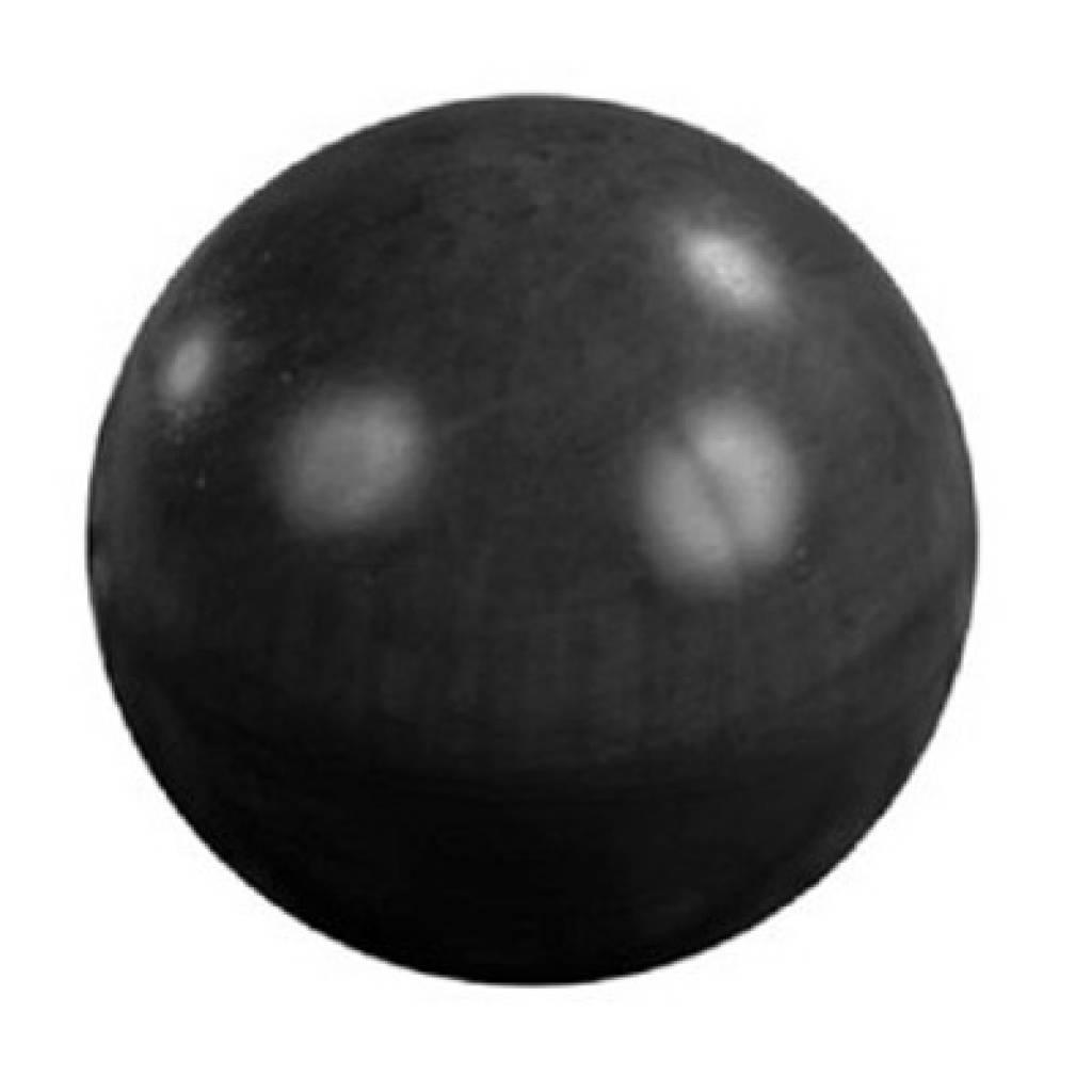 Betonnen bol zwart gecoat 24cm - Zwart gecoat ...