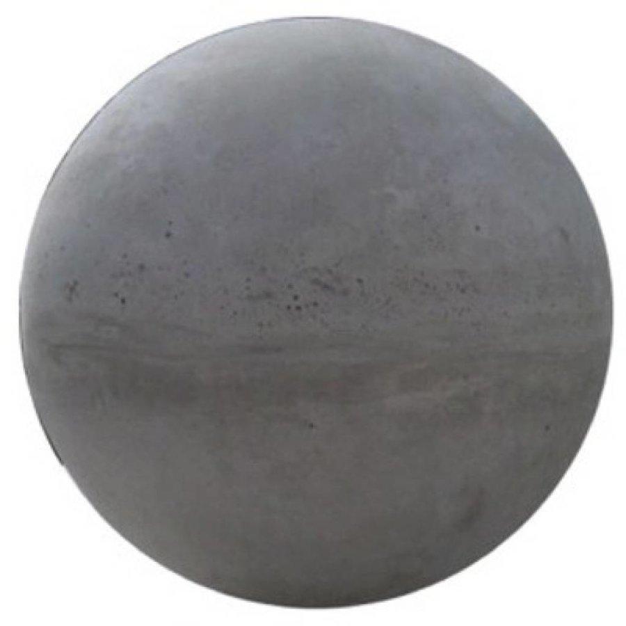 Betonnen bol grijs beton 33cm