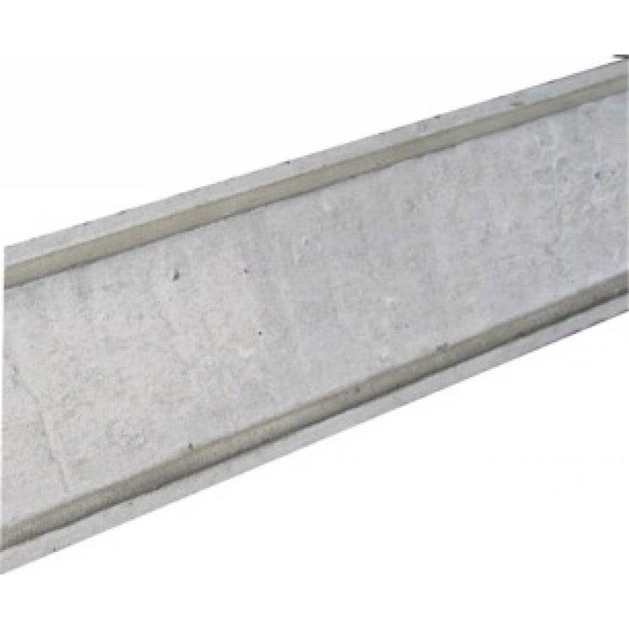 Muurafdekkers 2-zijdig, grijs 35cm x 100cm
