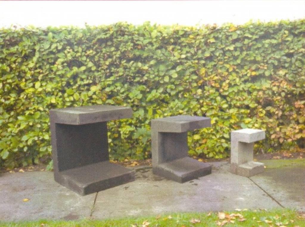 u elementen beton 30cm grijs. Black Bedroom Furniture Sets. Home Design Ideas