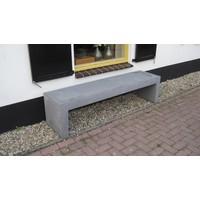 Betonnen Tuinbank grijs antraciet 150cm