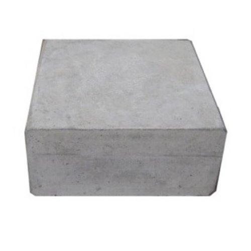 Hoeksteen 32x32cm grijs
