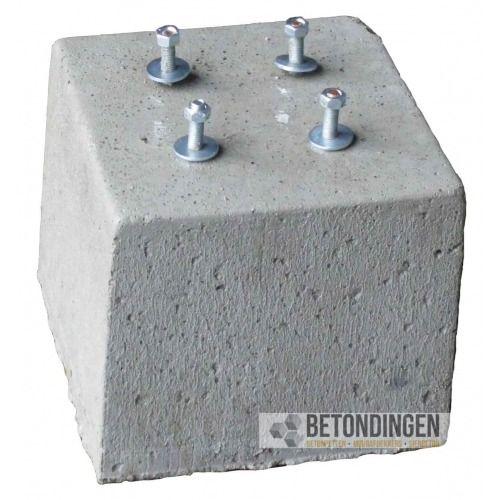 prefab betonpoeren 30x30x25cm draadeind. Black Bedroom Furniture Sets. Home Design Ideas