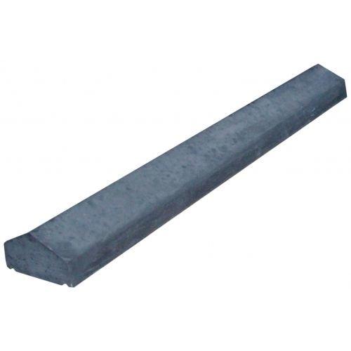 Muurafdekkers 2-zijdig, antraciet 45cm x 100cm