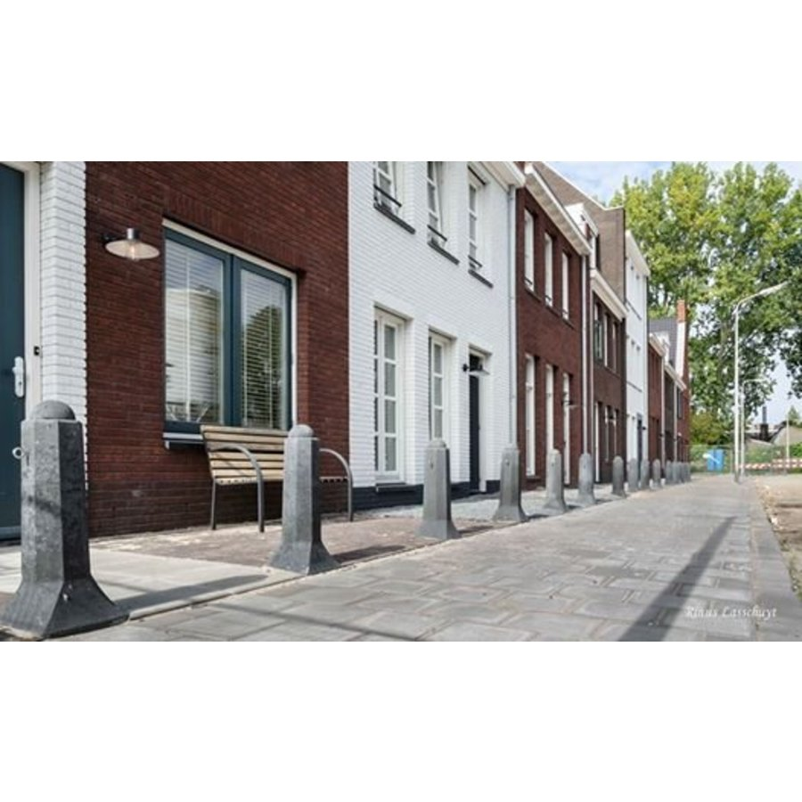 Amsterdammertjes (type 1) antraciet H 105cm