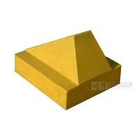 Schrikblokken geel