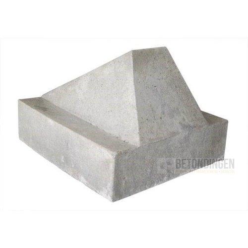 Schrikblok grijs
