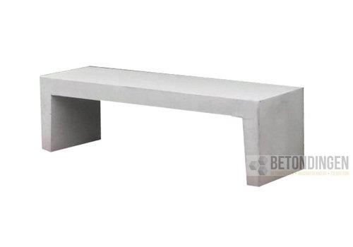 Betonnen Tuinbank wit grijs 180cm