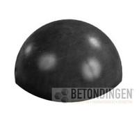 Parkeerbol zwart gecoat Ø 50cm
