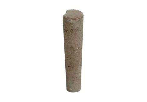 Palissade Ø 11x60cm bruin